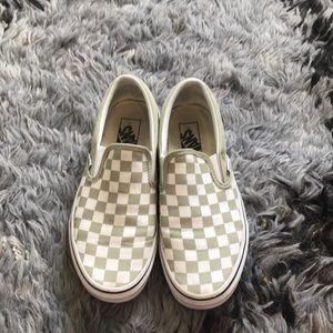 Vans® Unisex Classic Slip-On Sneakers Checkerboard